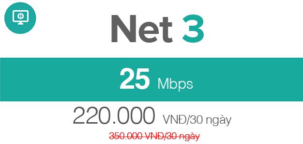 cáp quang Viettel Net 3
