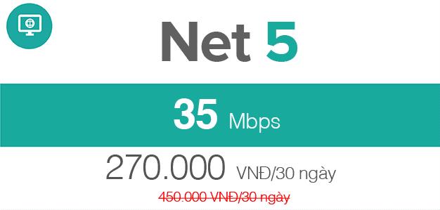 cáp quang Viettel Net 5
