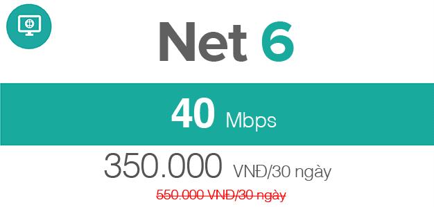 cáp quang Viettel Net 6