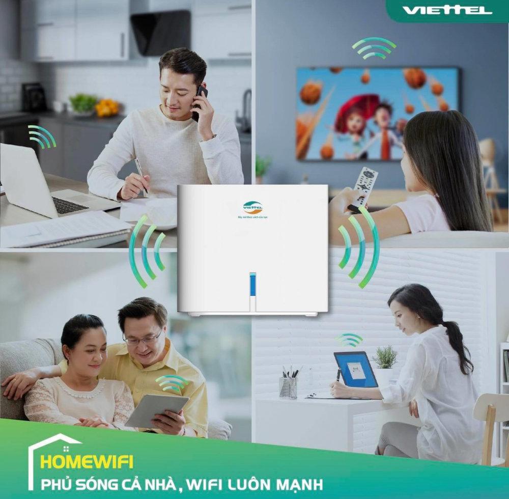 gói cước home wifi Viettel