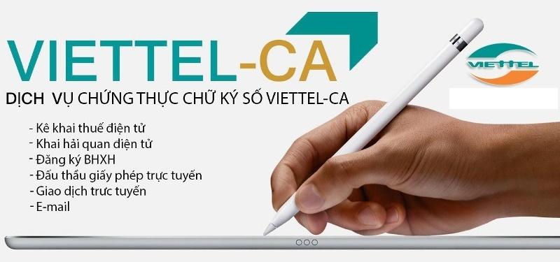 gia hạn chữ ký số Viettel tại TpHCM