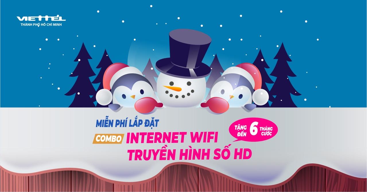 khuyến mãi lắp cáp quang và truyền hình Viettel tháng 12-2018