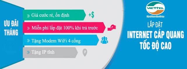 lắp mạng Viettel tại quận Tân Phú