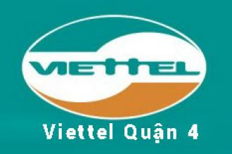 Khuyến mãi lắp đặt cáp quang Viettel tại Quận 4 mới nhất 2021