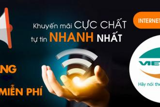 Lắp mạng Viettel tại huyện Hóc Môn giá rẻ chỉ 185.000 VNĐ/tháng