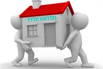 Thủ tục di chuyển địa chỉ lắp đặt internet Viettel sang địa chỉ mới