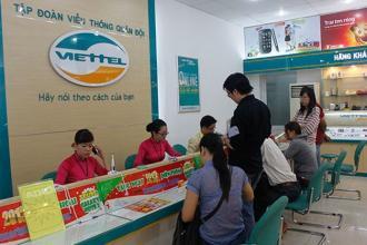 Danh sách chi tiết hệ thống Cửa hàng Viettel Hà Nội