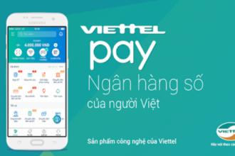 Đóng tiền internet Viettel online qua ViettelPay trong vòng 2 phút