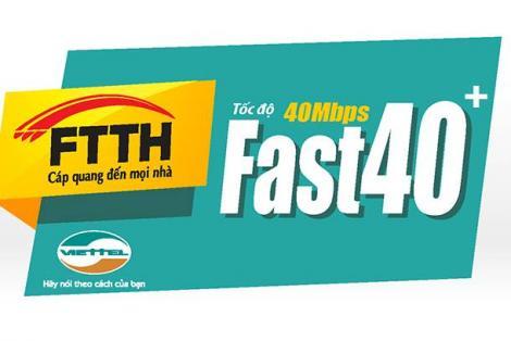 Gói cước Fast 40 plus
