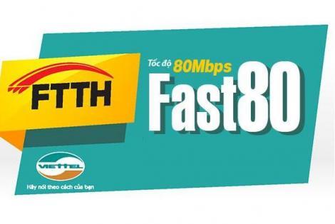 Gói cước Fast 80